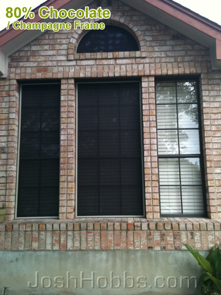 Lakeway TX Sun Blocking window Screens
